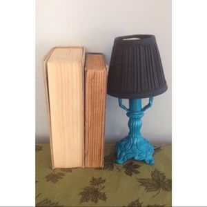 Other - Mini Cast Iron Lamp and Shade